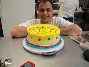 yellow cake 011